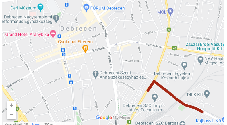 Cycling Bike Debrecen Hungary Development 01 1 - New Bike Paths Will be Built in the Eastern Part of Debrecen