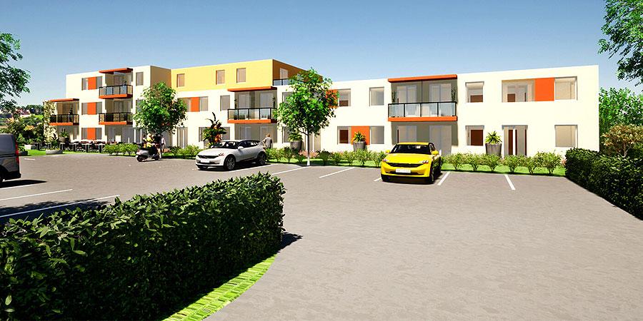 stay 2 - A Hotel is Being Built in Józsa - 3D Renderings
