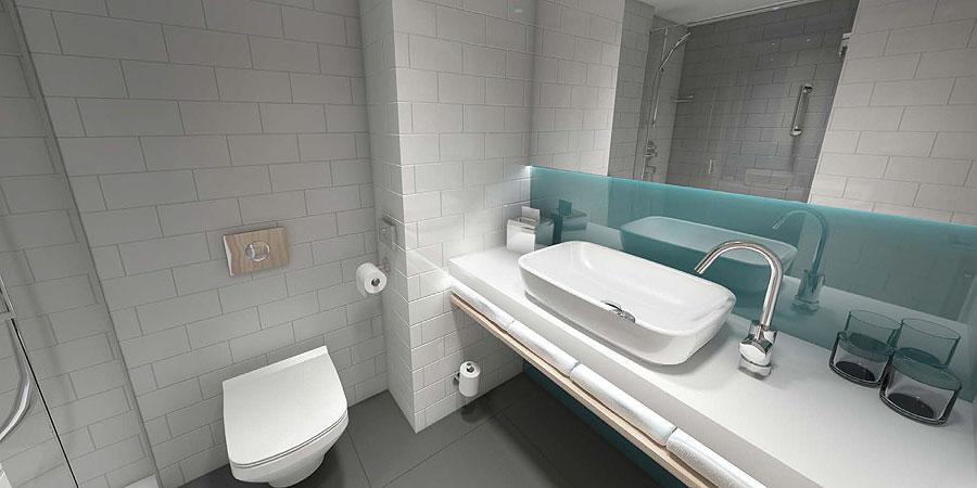 stay belso 5 - A Hotel is Being Built in Józsa - 3D Renderings