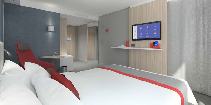 stay belso 7 - A Hotel is Being Built in Józsa - 3D Renderings
