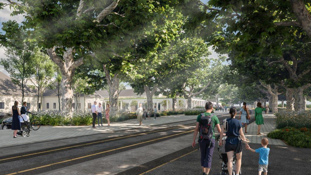 Development pallagi ut Debrecen Hungary 01 1024x576 - The Development of the Promenade on Pallagi úT Continues