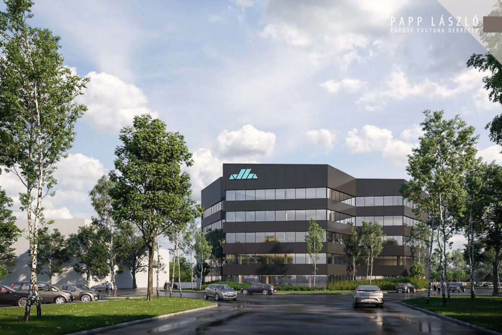 The cornerstone of the Office Bay Office Building was laid in Debrecen 03 1 1024x683 - A New Office Building is Under Development at Debrecen International Airport